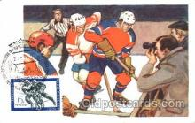 spo014067 - Russian Olympic, Sport, Sports Hockey, Postcard Postcards