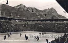 spo014077 - Olympia Vs. Garmish Hockey Postcard Postcards