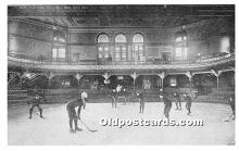 Advertising Pittsburgh Plumbing & Heating Supply Corp, First Pittsburgh Hockey Team practice at Schenley Park Casino