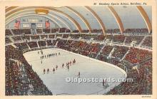 spo014099 - Old Vintage Hockey Postcard Post Card