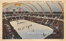 Colorful Sports Arena, Ice Hockey