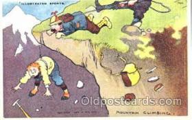 spo016022 - Mountain Climbing, Hiking, Rock Climbing Postcard Postcards