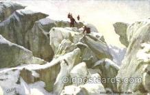 spo016023 - Mont Blanc Mountain Climbing, Hiking, Rock Climbing Postcard Postcards