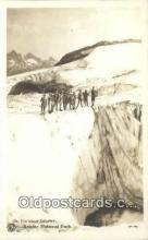 spo016040 - Paradise Glacier Rainier National Park Ski, Skiing Postcard Post Card Old Vintage Antique