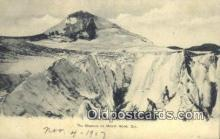 spo016048 - The Glaciers On Mount Hood, OR USA Ski, Skiing Postcard Post Card Old Vintage Antique