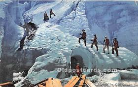 Eisgrotte im Eigergletscher
