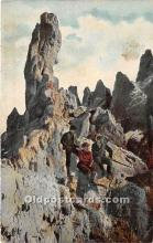 spo016064 - Old Vintage Mountain Climbing Postcard Post Card