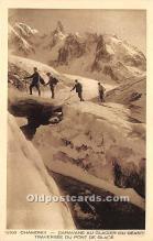 Chamonix, Caravane au Glacier du Geant