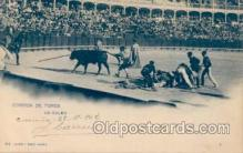 spo017002 - Bull fighting Corrida De Toros,  Postcard Postcards