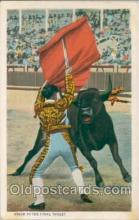 spo017005 - Bull fighting Postcard Postcards