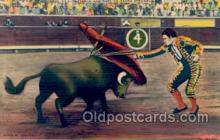 spo017008 - Bull fighting Postcard Postcards