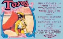 spo017013 - Bullfighting Postcard Postcards