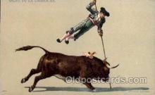 spo017014 - Bull Fighting Postcard