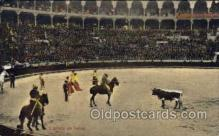 spo017020 - Bull Fighting Postcard