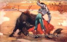 spo017027 - Bullfighting Postcard