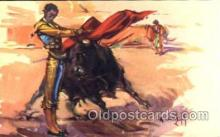 spo017028 - Bullfighting Postcard
