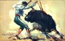 spo017031 - Bullfighting postcards