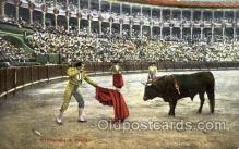spo017110 - Bullfighting Postcard Postcards
