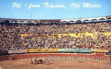 spo017133 - Tia Juana, Mexico, Bullfighting Postcard Postcards