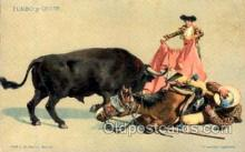 spo017137 - Bullfighting Postcard Postcards