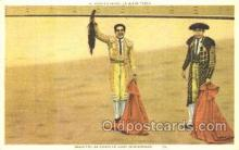 spo017148 - Bullfighting Postcard Postcards