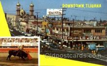 spo017166 - Tijuana, Mexico, Bullfighting Postcard Postcards
