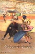 spo017176 - Bullfighting Postcard Postcards