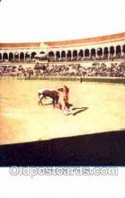 spo017178 - Valencia, Spain, Bullfighting Postcard Postcards
