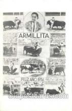 spo017181 - Armillita, Felizano 1936, Bull Fighting Postcard Postcards