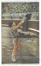 spo017182 - The Matador, Bull Fighting Postcard Postcards