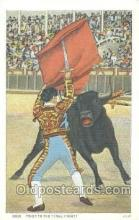 spo017184 - Bull Fighting Postcard Postcards
