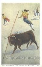 spo017185 - Salto De Vara, Bull Fighting Postcard Postcards