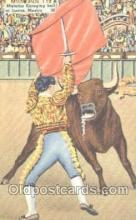 spo017186 - Juarez, Mexico, Bull Fighting Postcard Postcards