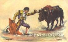 spo017193 - Bull Fighting Postcard Postcards