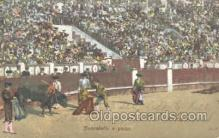 spo017195 - Bull Fighting Postcard Postcards