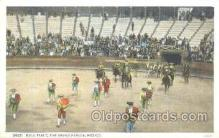 spo017198 - The Grand Parade, Mexico, Bull Fighting Postcard Postcards