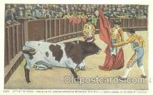 spo017199 - Bull Fighting Postcard Postcards