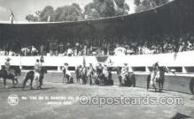 spo017203 - En El Rancho Del Charro, Mexico City, Mexico, Bull Fighting Postcard Postcards