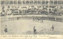 spo017204 - Juarez, Mexico, Bull Fighting Postcard Postcards