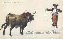 spo017207 - Bullfighting Postcard Postcards