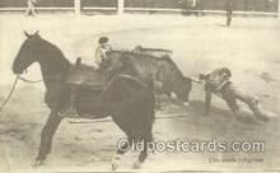 spo017214 - Una Caida Peligrosa, Bullfighting Postcard Postcards