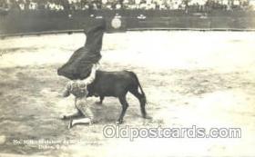 spo017219 - Guadalupe, Monterrey, Bullfighting Postcard Postcards