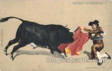 spo017235 - Quiebro de Rodillas Bull Fighing, Bullfighting Postcard Postcards