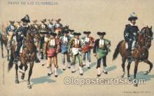 spo017236 - Paseo de las Cuardrillas Bull Fighing, Bullfighting Postcard Postcards