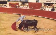 spo017247 - Bull Fight in Mexico Bull Fighing, Bullfighting Postcard Postcards