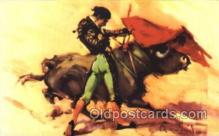 spo017249 - Bull Fighing, Bullfighting Postcard Postcards