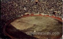 spo017255 - Plaza De Toros, Mexico, D.F. Bull Fighting, Bullfighting Postcard Postcards