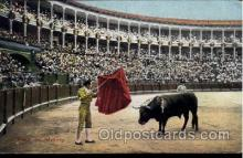 spo017258 - Bull Fighting, Bullfighting Postcard Postcards