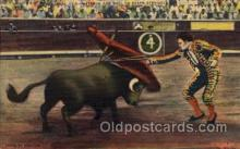 spo017263 - Esquiyel Bull Fighting, Bullfighting Postcard Postcards