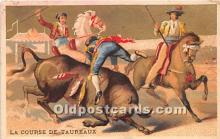 spo017268 - Old Vintage Bull Fighting Postcard Post Card